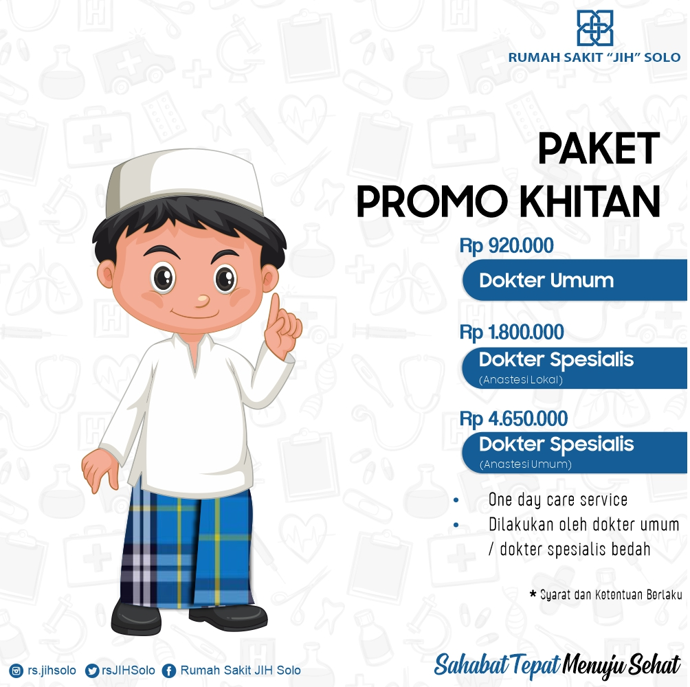 Promo Paket Khitan Rumah Sakit Jih The Ultimate Value Healthcare